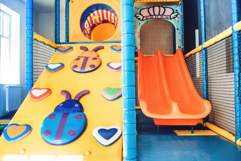 Vnitřní dětské hřiště, herna, Hotel Pod Zvičinou