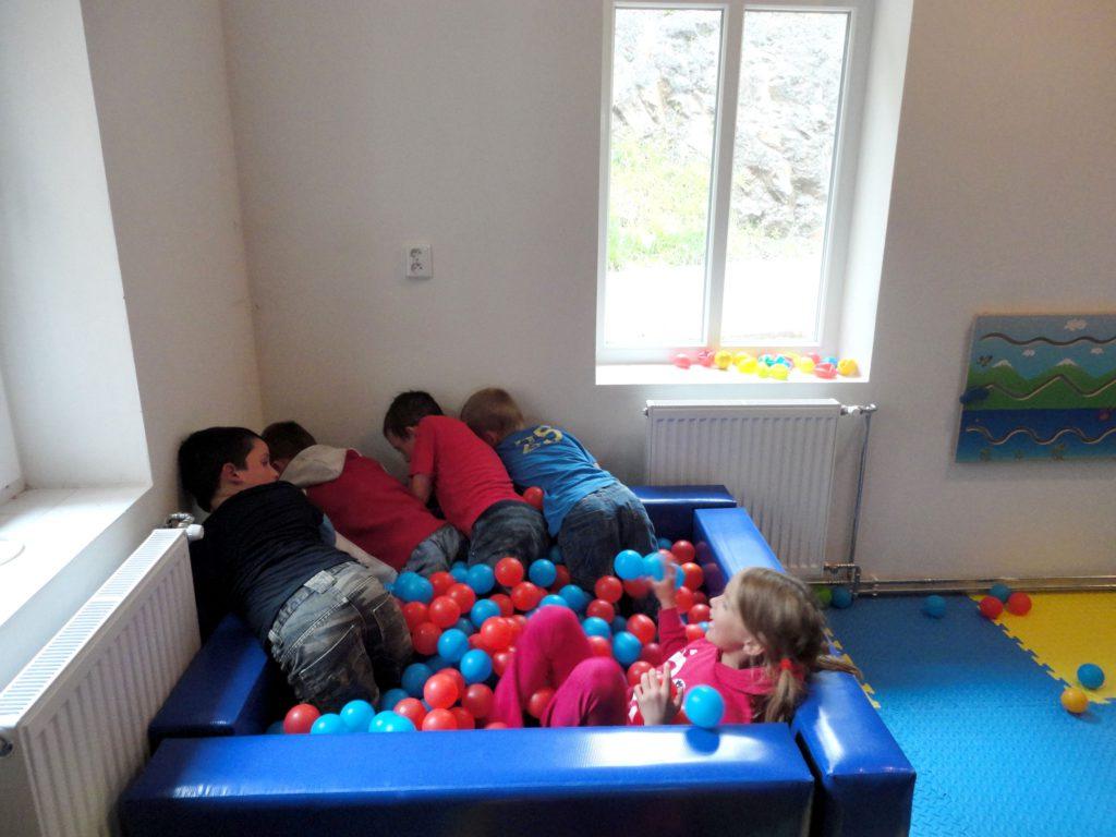 Vnitřní dětské hřiště, dětský koutek, Hotel Pod Zvičinou