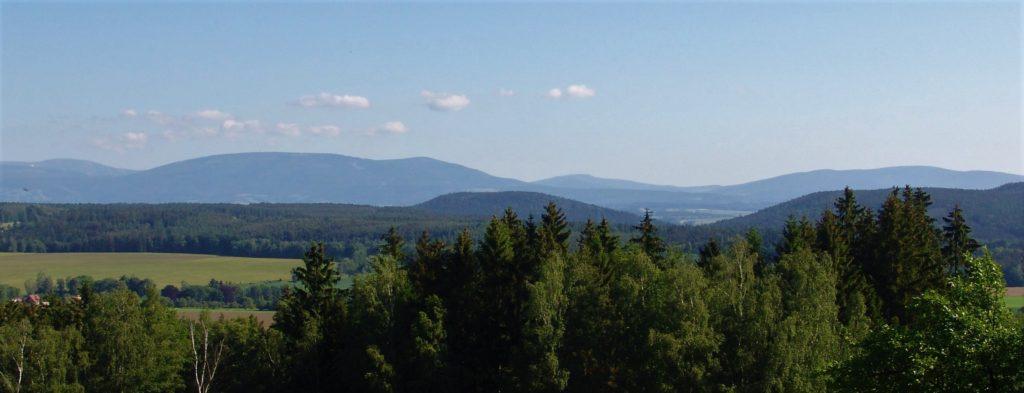 Riesengebirge, Krkonoše, Czech Republic, Panorama